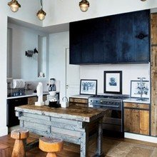 Фотография: Кухня и столовая в стиле Скандинавский, Интерьер комнат – фото на InMyRoom.ru