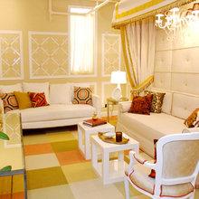 Фотография: Гостиная в стиле Классический, Гардеробная, Хранение, Интерьер комнат, Советы – фото на InMyRoom.ru