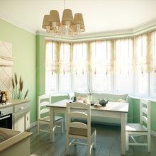 Фотография: Кухня и столовая в стиле Кантри, Квартира, Дома и квартиры, Прованс, Проект недели, Москва – фото на InMyRoom.ru