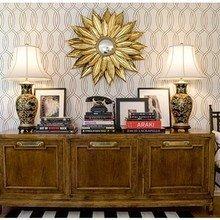 Фотография: Мебель и свет в стиле Классический, Современный, Декор интерьера, DIY, Дом, Декор дома, Цвет в интерьере, Обои – фото на InMyRoom.ru