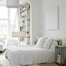 Фотография: Спальня в стиле Скандинавский, Интерьер комнат, Советы, Стол, Кровать – фото на InMyRoom.ru