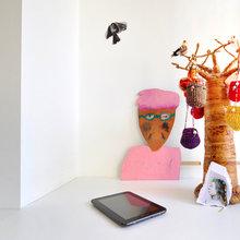 Фотография: Декор в стиле Скандинавский, Современный, Дом, Цвет в интерьере, Дома и квартиры, Белый – фото на InMyRoom.ru