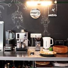 Фотография: Кухня и столовая в стиле Современный, Декор интерьера, Декор, Мебель и свет, Балдахин – фото на InMyRoom.ru