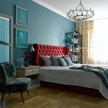 Фотография: Спальня в стиле Кантри, Квартира, Проект недели, Надя Зотова – фото на InMyRoom.ru