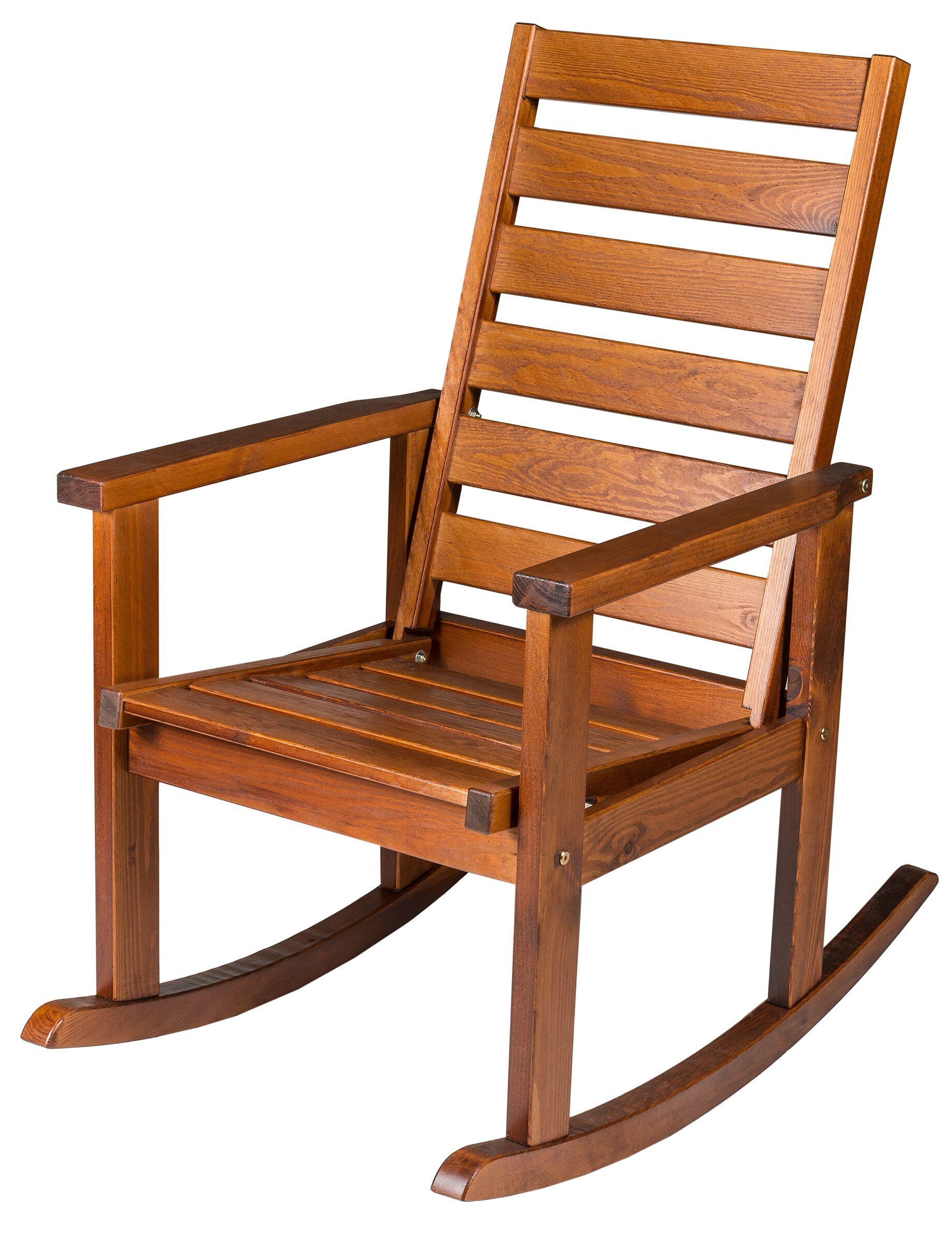 Кресло-качалка Regina из массива сосны