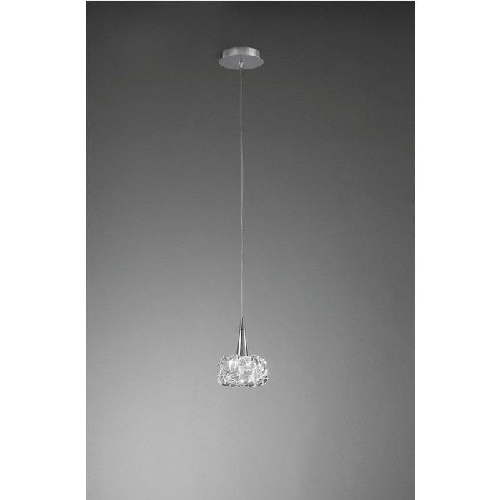 Подвесной светильник Mantra из металла и стекла