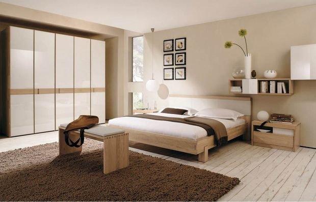 Фотография: Спальня в стиле Эко, Декор интерьера, Квартира, Дом, Декор, Советы, Бежевый – фото на InMyRoom.ru