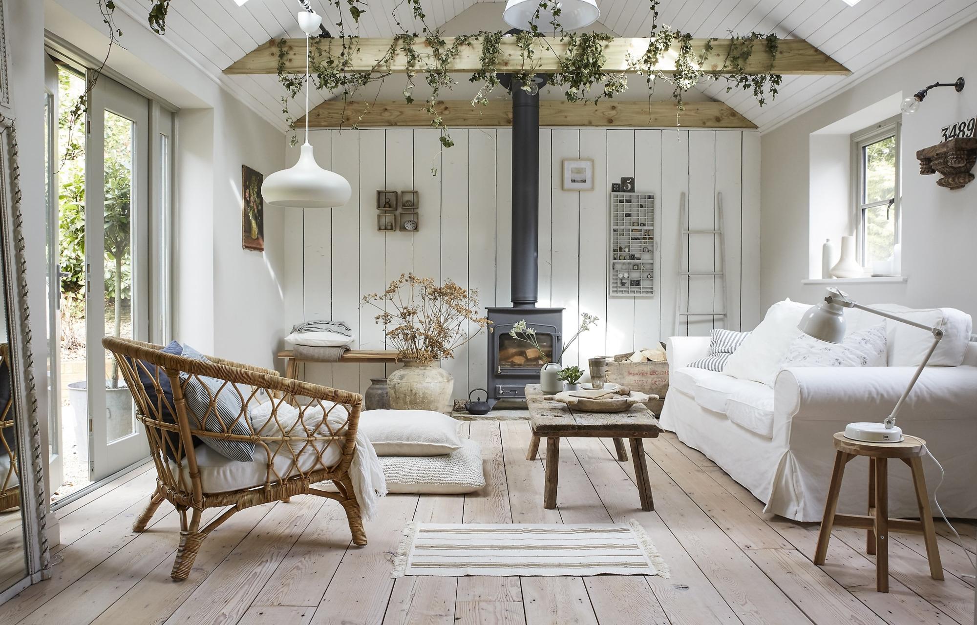 Винтажный дом в Англии с мебелью и декором из ИКЕА