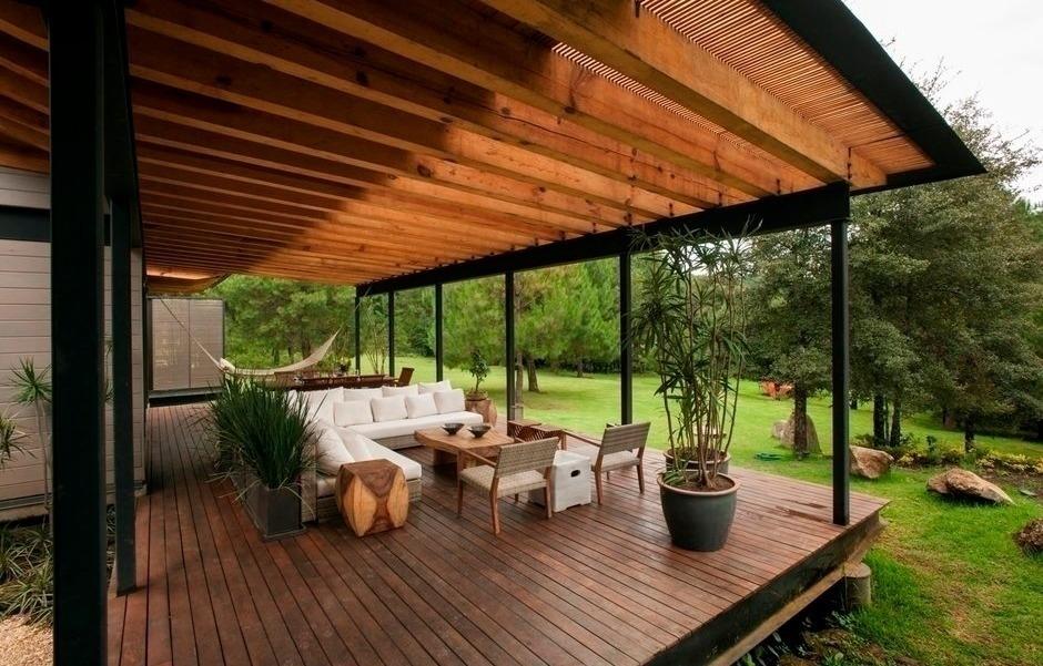 Дизайн террасы на даче