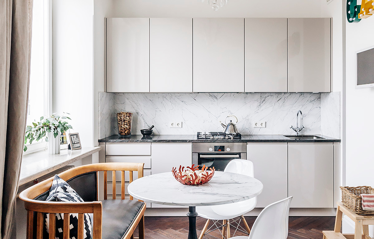 Как архитектор создал кухню для себя