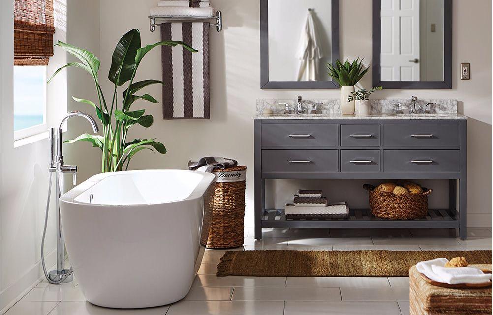 Как создать атмосферу СПА в ванной комнате?