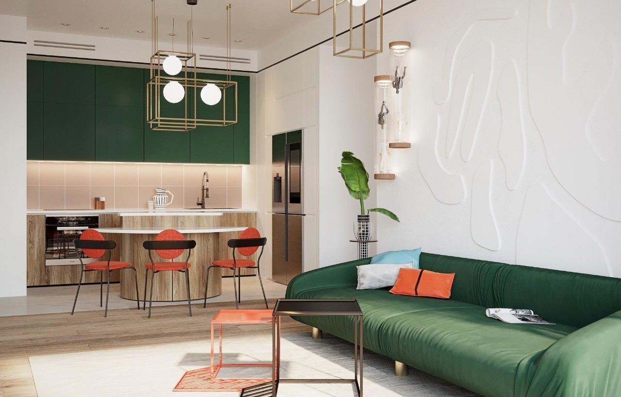 7 ярких квартир, которые вам понравятся