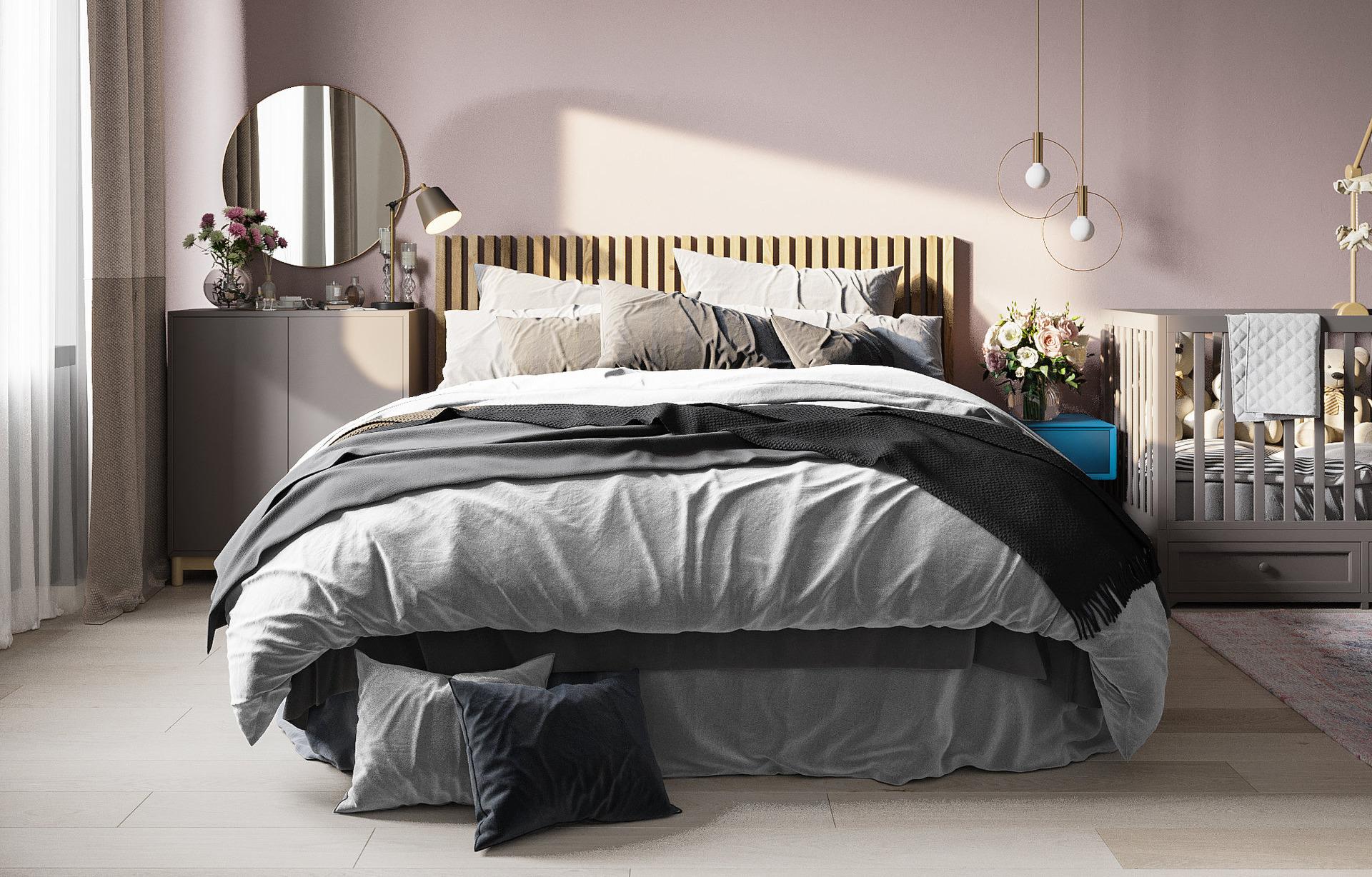 Дорого и бюджетно: оформляем маленькую спальню