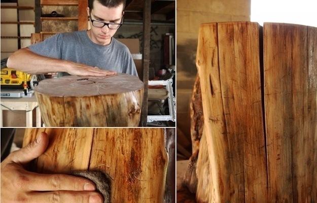 Как сделать стол из корня дерева