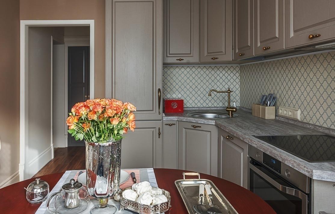 Серые матовые кухни - идеи стильного дизайна мебели