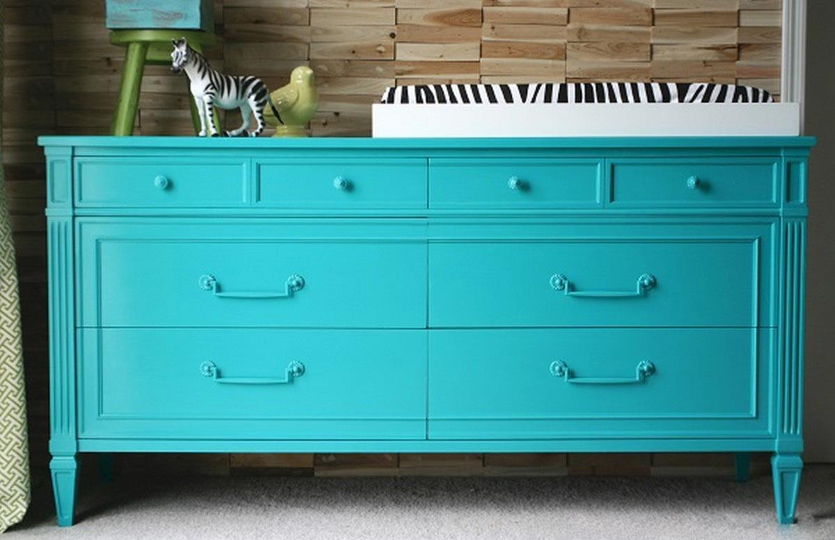 Можно ли перекрасить мебель из дсп в другой цвет