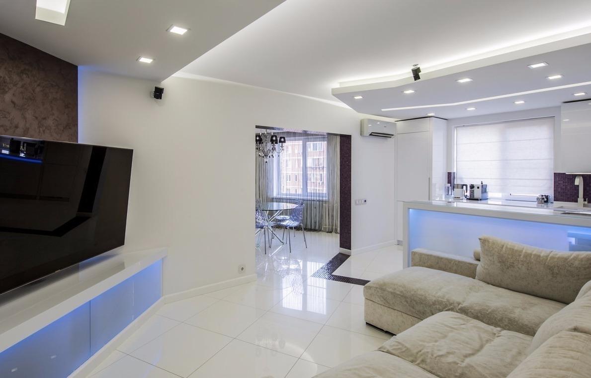 Дизайн 1-комнатной квартиры площадью 40 кв м с выделенным спальным местом 28 фото нюансы отделки и обустройства