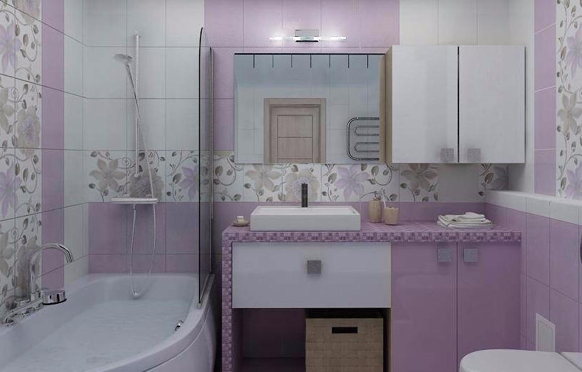 Сиреневая ванная комната фото мебель детская комната эконом
