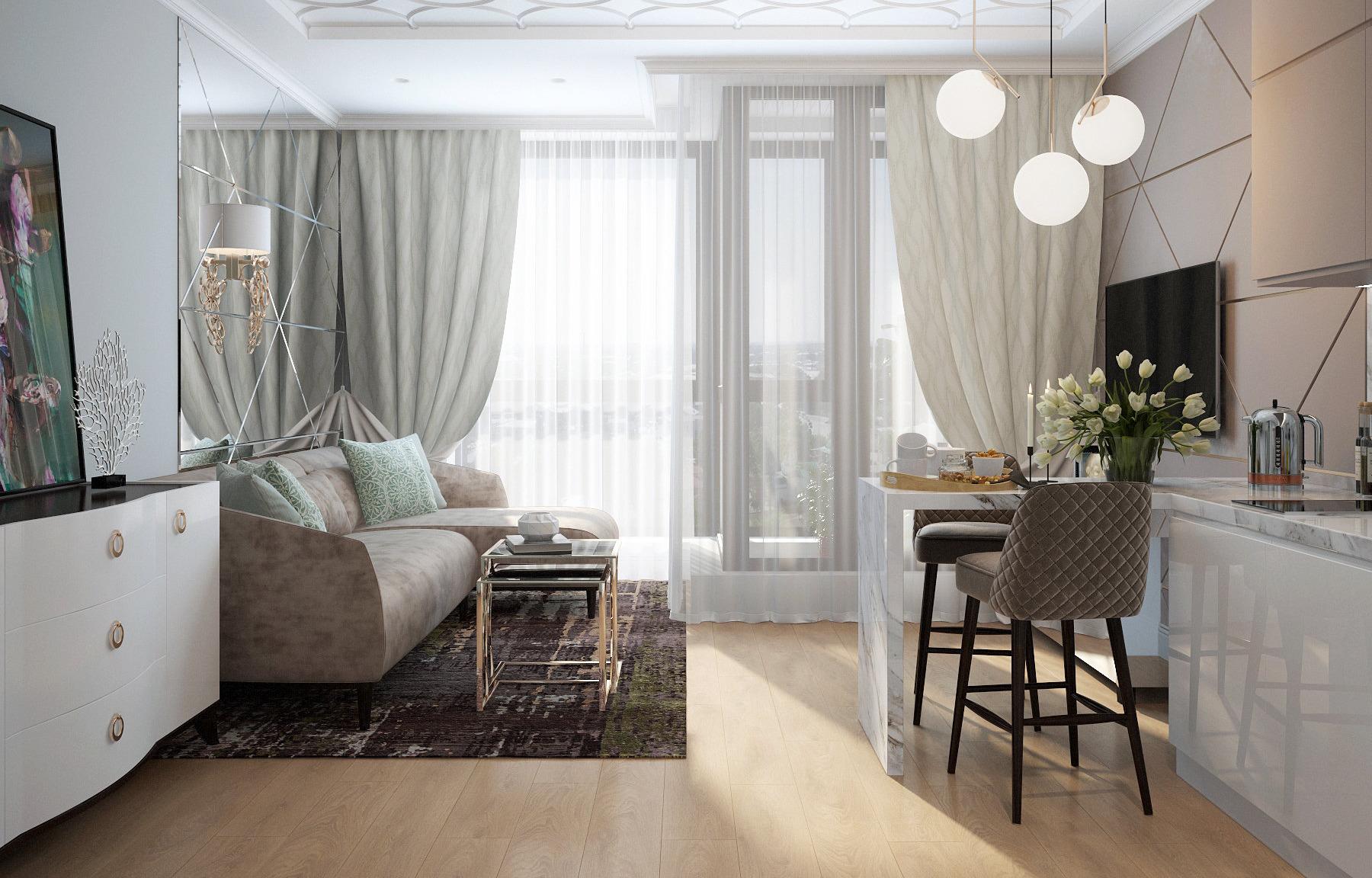 Советы + покупки: оформляем квартиру-студию как с обложки