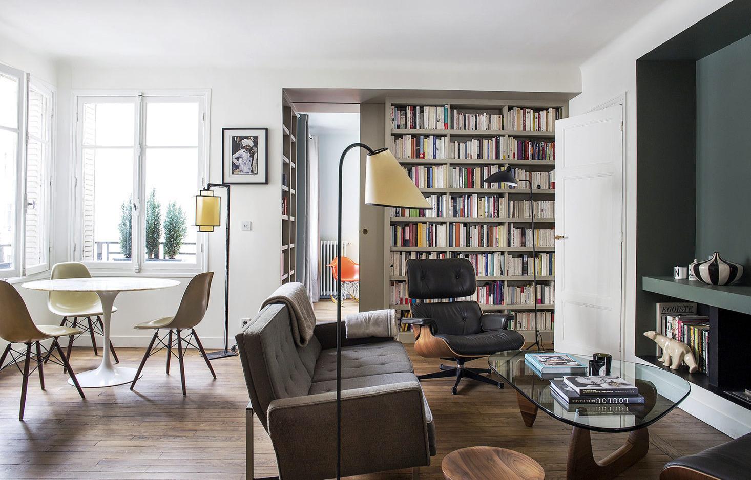 7 идей для малогабаритки, подсмотренных в парижской квартире