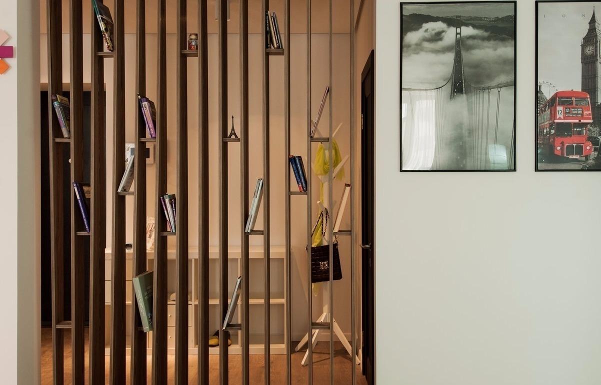 Как разделить комнату на две зоны — советы дизайнеров по разделению пространства в комнате на зоны