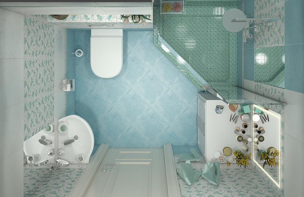 Перепланировка ванной комнаты и туалета в 2019. Все нюансы.