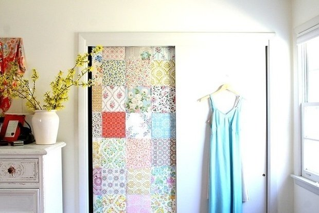 Как обновить дверь в ванную комнату своими руками фото