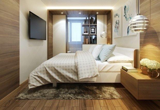 Идеи для небольшой спальни фото
