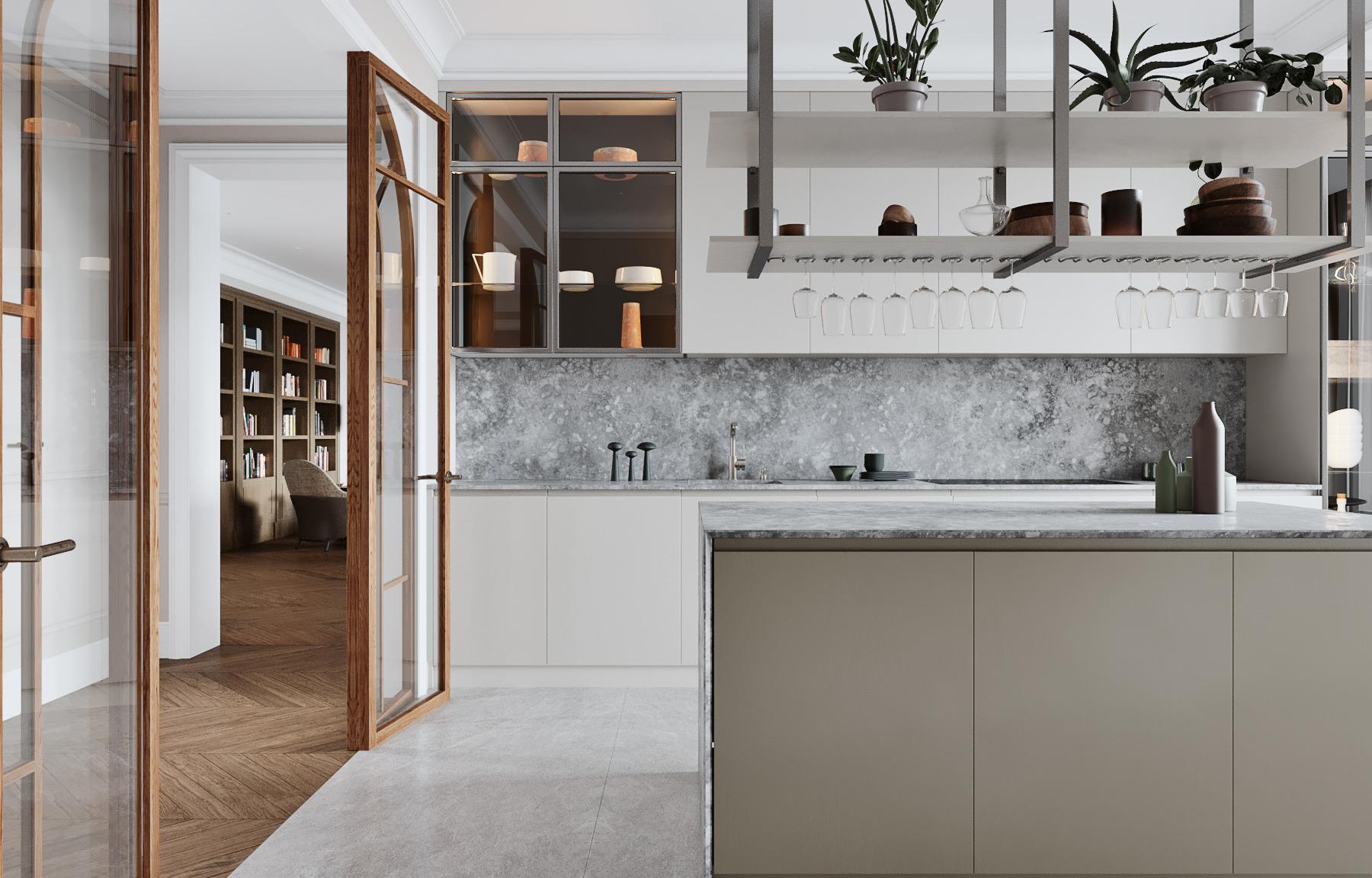 Проект недели: квартира с очень удобной кухней