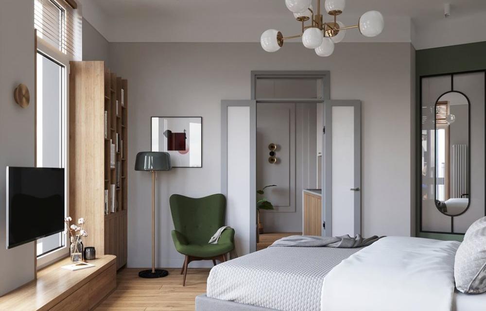 Дорого и бюджетно: стильно оформляем серую квартиру