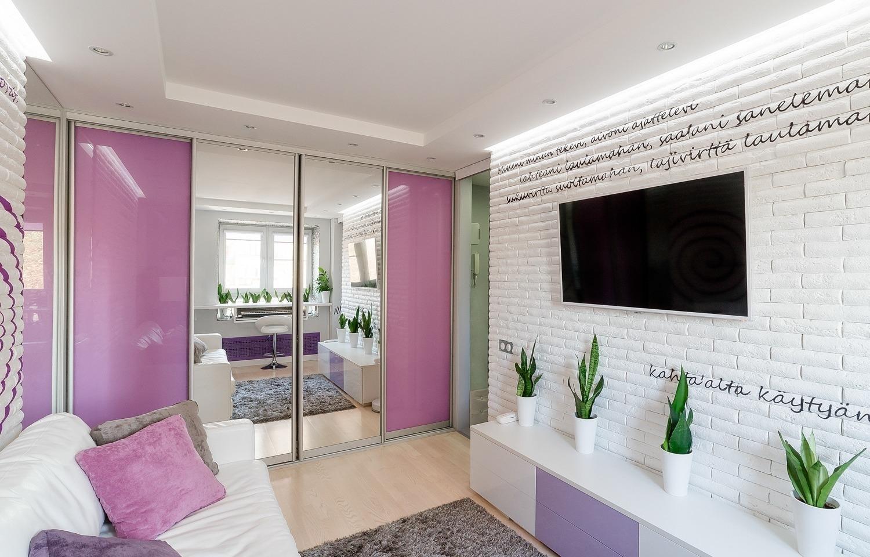 Применение зеркал в интерьере квартиры