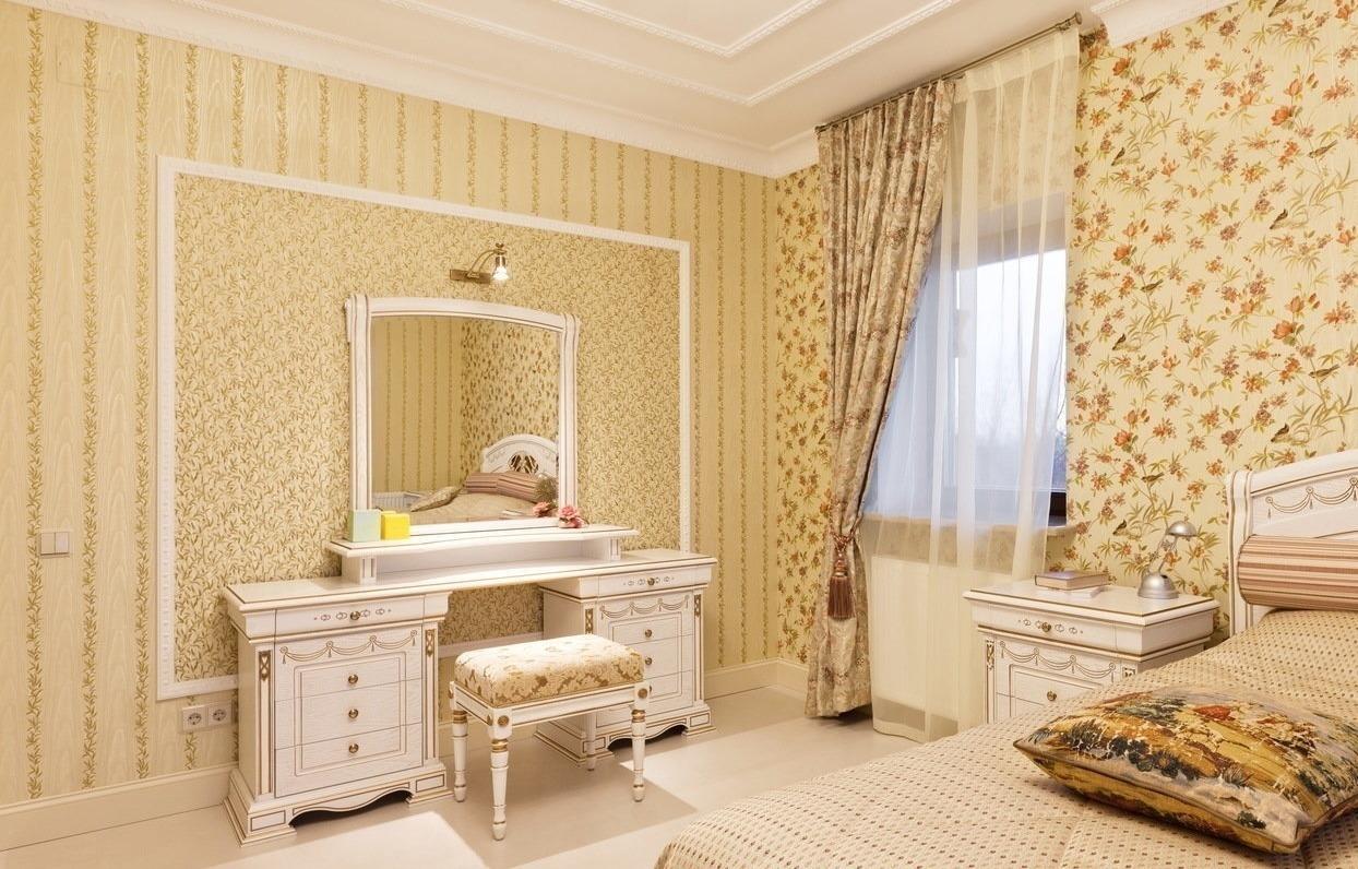 Трельяж с зеркалом в спальню: фото красивых интерьеров