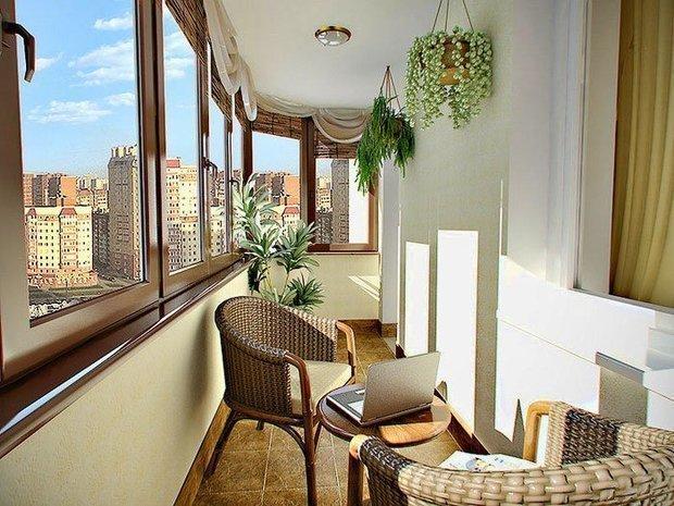 15 идей для уютного балкона ELLE Decoration 2