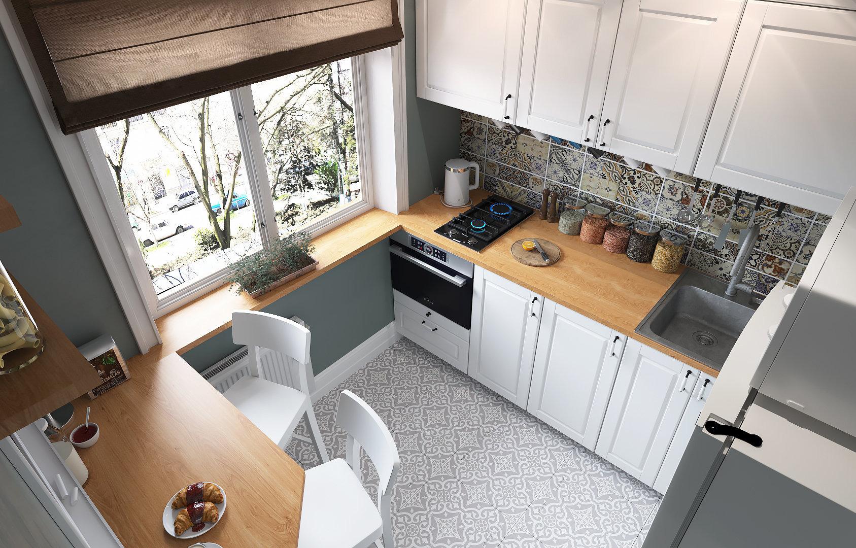 10 идей для маленькой кухни, подсмотренных у наших дизайнеров