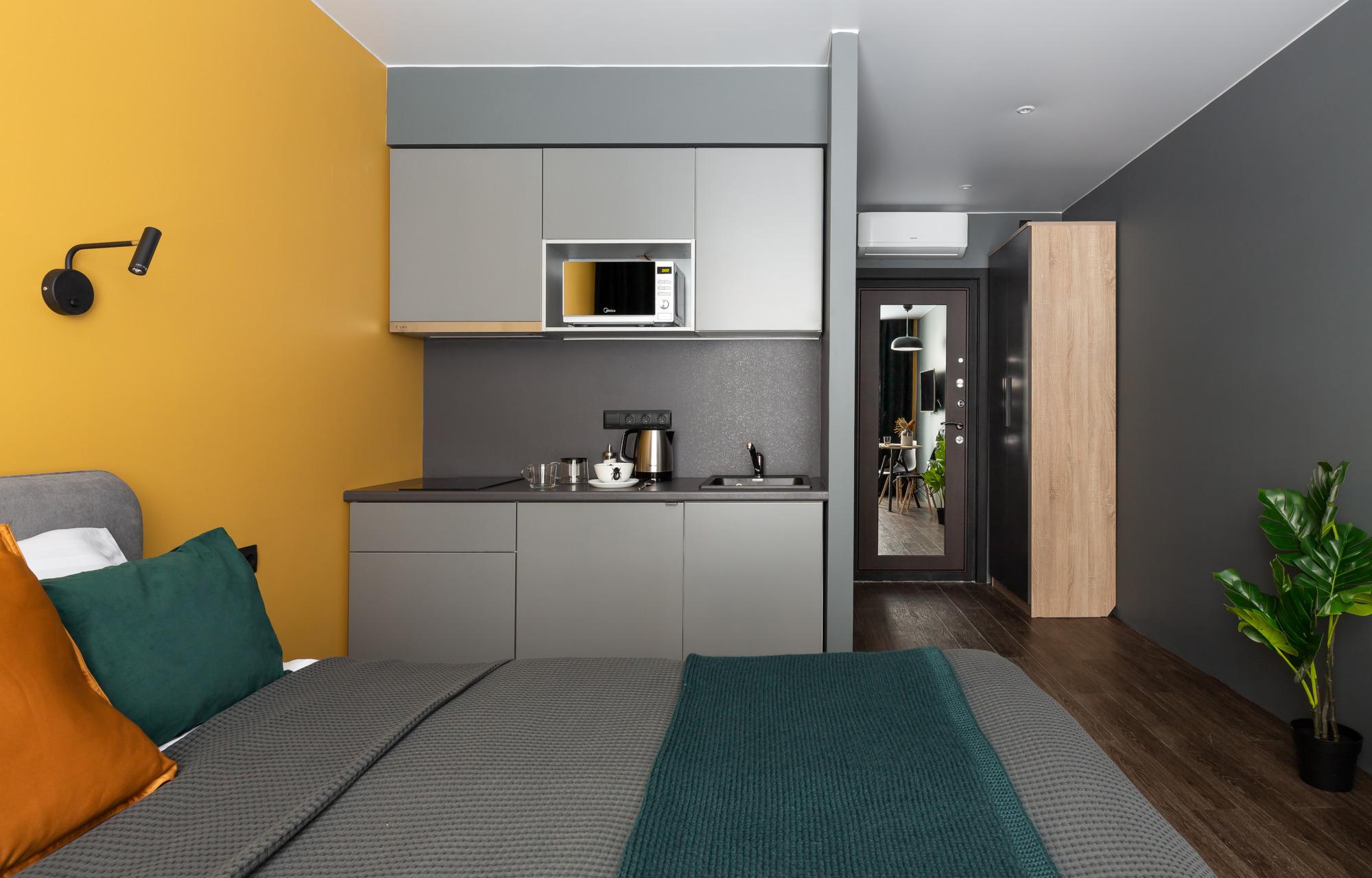 Интерьер апарт-отеля, который вы можете повторить у себя дома